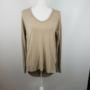 Helmut Lang Med oversized tunic top shirt drapped